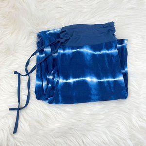 Stellah Denim Tie Dye Drawstring Pants